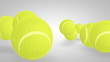 3D tennis ball bounce 04