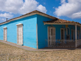 Traditional house in the colonial town of Trinidad in Cuba