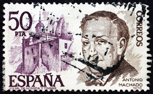 Postage stamp Spain 1978 Antonio Machado Ruiz, Poet and Playwrig