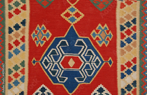 Kelim / Kilim Teppich, Detail