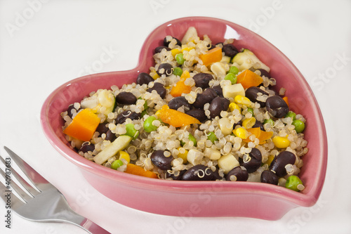 Heart Healthy Quinoa Salad