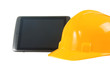 Tablet Pc and helmet