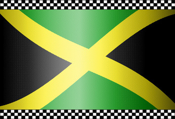 Carbon Fiber Black Background Jamaica