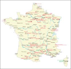 UNESCO-Welterbe, Frankreich