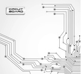 Fototapety circuit board isolated