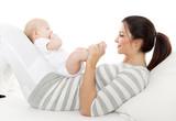 rückbildungsgymnastik mit baby