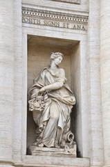 L'Abbondanza, Fontana di Trevi