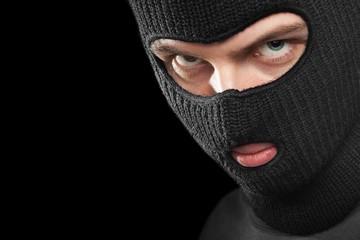 Criminal in mask
