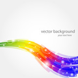 Fototapety vector color background - sfondo vettoriale arcobaleno