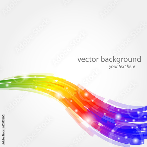 vector color background - sfondo vettoriale arcobaleno