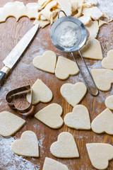 cutting heart