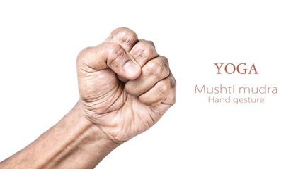 Yoga Mushti mudra