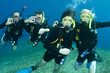 group of scuba divers