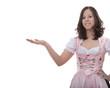 Bayerisches Mädel präsentiert Bayern