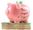 Besoin urgent d'argent ? liasse de billets