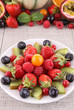 assorted of fresh fruits