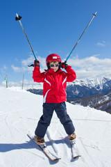 Joie de skier