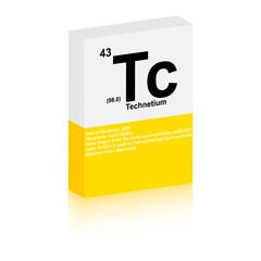 Technetium symbol