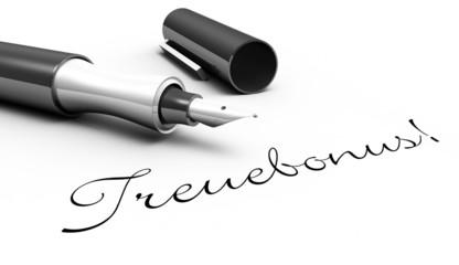 Treuebonus! - Stift Konzept