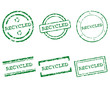 Recycled Stempel