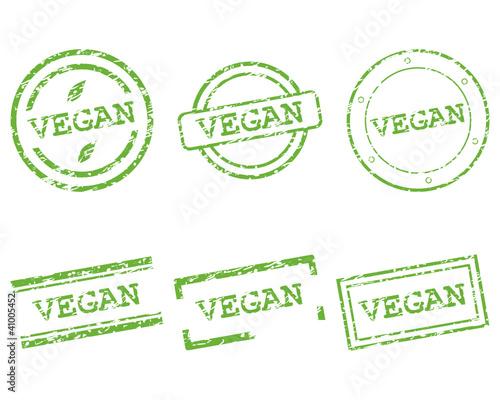 Vegan Stempel