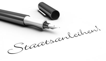 Staatsanleihen! - Stift Konzept