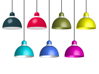Suspensions lampes