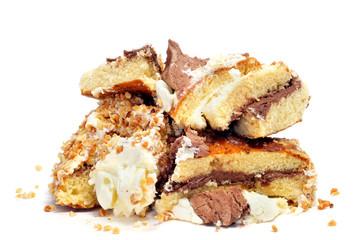 cake pieces