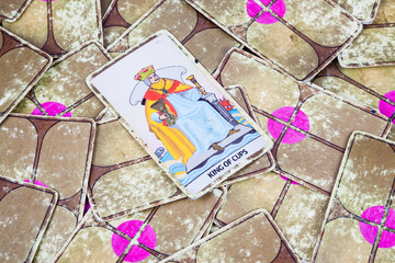 King of Cups, Tarot card, Major Arcana (2)