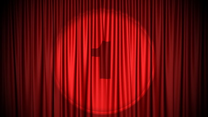 Red curtain countdown 2