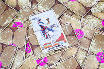 Knight of Cups, Tarot card, Major Arcana (2)