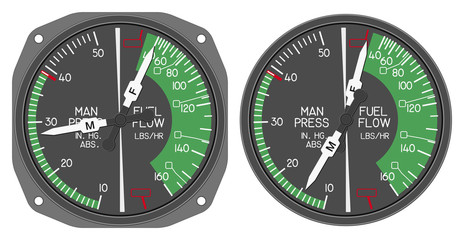 helicopter dashboard indicator