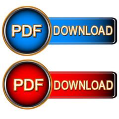 Pdf download icons