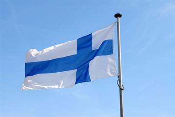Flagge, Fahne, Finnland, Suomi