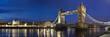 TPanorama Tower Bridge & Tower of London Großbritanien
