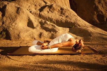 Yoga Padma Matsyasana