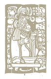 Mayan Blood and Glyphs poster
