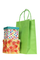 Gift Boxes and Shopping Bag