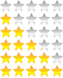 Rating vector stars