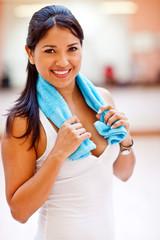 Sporty woman