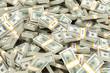 a huge pile of money