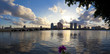 City West Palm Beach at sunset