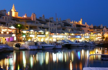 Marina waterfront, Benalmadena, Spain © Arena Photo UK