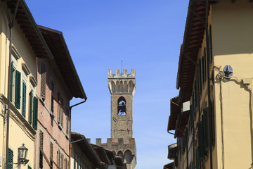 Tower of the Palazzo dei Vicari,Scarperia