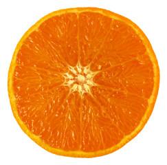 Orange, close-up, isolated,