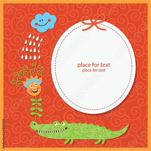 greeting card for children