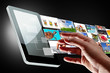 Multimedia streaming of the tablet screen