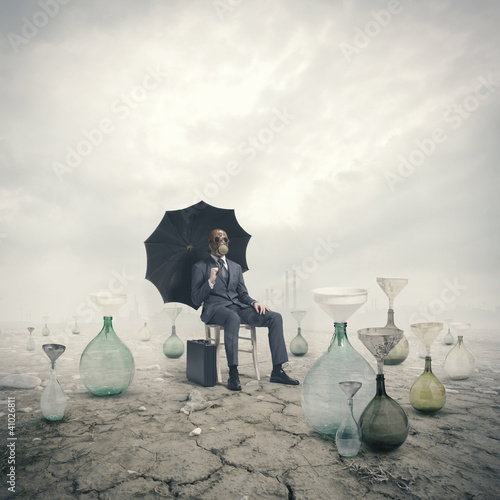 concept of global warming: Environmental Damage