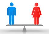 Frau + Mann Balance