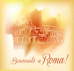 Card from Roma